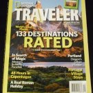 National Geographic Traveler, November/December 2009, (133 Destinations Rated)