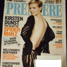 Premiere Magazine July/August 2004 Kirsten Dunst/ Kate Hudson/ Jake Gyllenhaal/ Christopher Walken