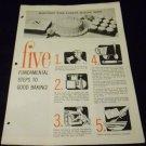 Five Fundamental Steps to Good Baking! (1962) Church & Dwight Co.