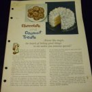 Chocolate and Coconut Treats (1962) by General Foods