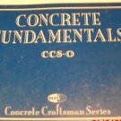 Concrete Fundamentals (1993, Paperback)