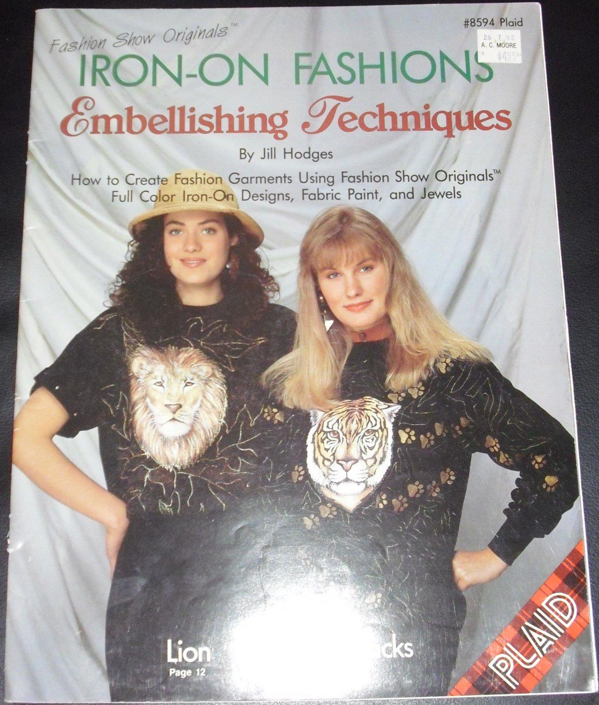 Iron-on Fashions Embellishing Techniques by Jill Hodges #8594 Plaid (Paperback, 1991)