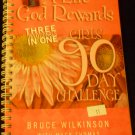 A Life God Rewards, Girls 90-Day Challenge by Wilkinson, Jacobson and Mack (2002, Hardcover, Spiral)