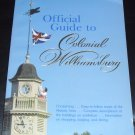 Official Guide to Colonial Williamsburg by Michael Olmert (1985, Paperback, Illustrated)