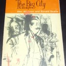 THE BIG CITY or the New Mayhew by  Ronald Atkinson and Ronald Searle (1962)