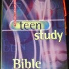 The Teen Study Bible: New International Version by Zondervan Publishing House (Hardcover, 1999)
