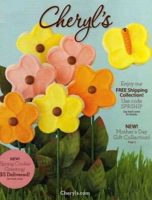 Cheryl's Mother's Day 2012 Catalog