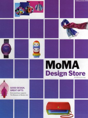 MoMA Design Store Holiday Preview 2009 Catalog