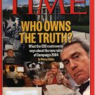 Time Magaine September 27, 2004 (Who Owns the Truth)