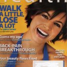 Health Magazine March 2004 The Power of Living Well (Walk A Little, Lose A Lot)