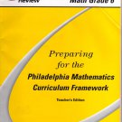 Preparing for the Philadelphia Mathematics Curriculum Framework Teacher's Edition, Vol. 2