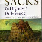 The Dignity of Difference: How to Avoid the Clash of Civilizations (Paperback) by Jonathan Sacks