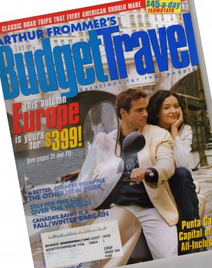 Arthur Frommer&#039;s Budget Travel Magazine October 2003