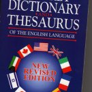 Webster's Pocket Dictionary and Thesaurus, New Revised Edition [Paperback 1999]