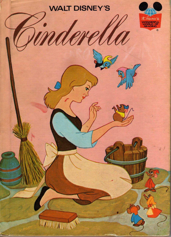 Walt Disney's Cinderella (Disney's Wonderful World of Reading) by Disney Book Club (Hardcover 1974)
