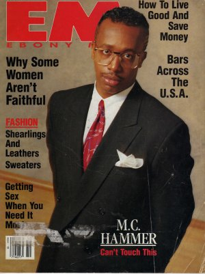 EM Ebony Man Magazine October 1990