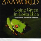 AAA World Magazine March - April 2010 (Going Green in Costa Rica)