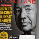 Fortune Magazine December 12, 2005 (How to Become a Great Leader)