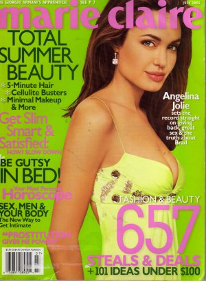 Marie Claire July 2005 (Angelina Jolie Total Summer Beauty)