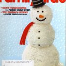 Family Circle Magazine December 2009
