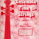 Ensemble Time for Strings, Book 1 Cello by Isaac and Merle (Paperback - Jan 1, 1991)