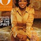 Oprah Winfrey O Magazine December 2000 Generosity Issue