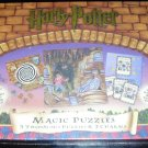 Harry Potter Magic Puzzles: 141 Pcs- 3 Two-sided Puzzles & 2 Charms