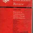 Harvard Educational Review Vol 51, #1, February 1981