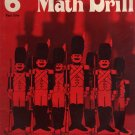 No Frill Math Drill, Grade 6 Part 1, No. 1919  by Carole Charters (1979) Sprit Duplicating Book