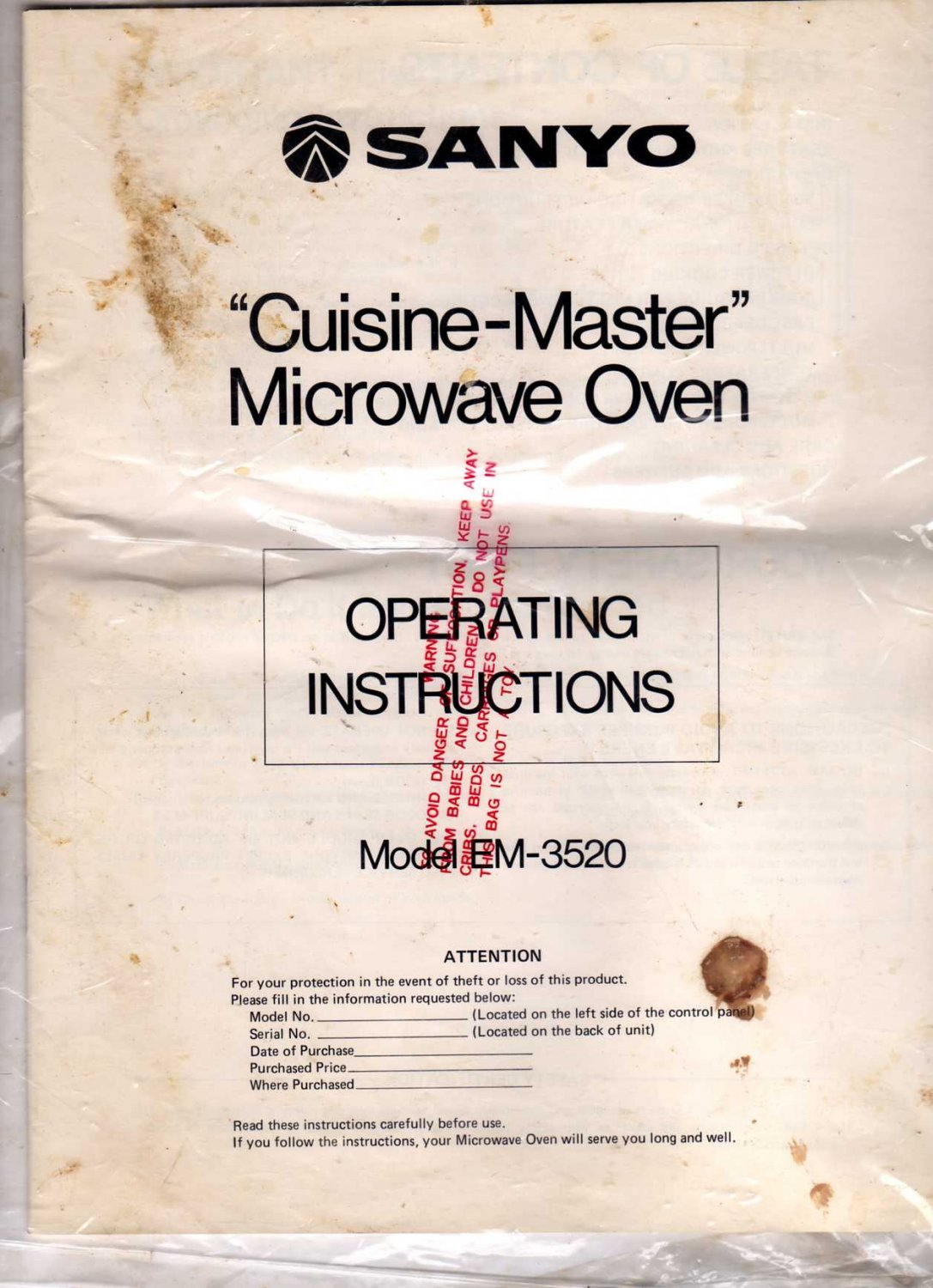 chef oven instruction manual