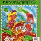 Little Mermaid Flip N' Fun Activity Pad (1991) by Hand Andersen