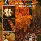 Thanksgiving Christian Science Bible Lesson 2006