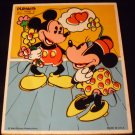 Playskool MICKEY and MINNIE Wooden Puzzle 7Pcs - #190-17