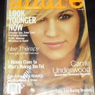 Allure Magazine April 2010 Carrie Underwood Look Younger Now, What's Making You Fat