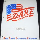 D.A.R.E. America, Drug  Abuse Resistance Education, Student workbook