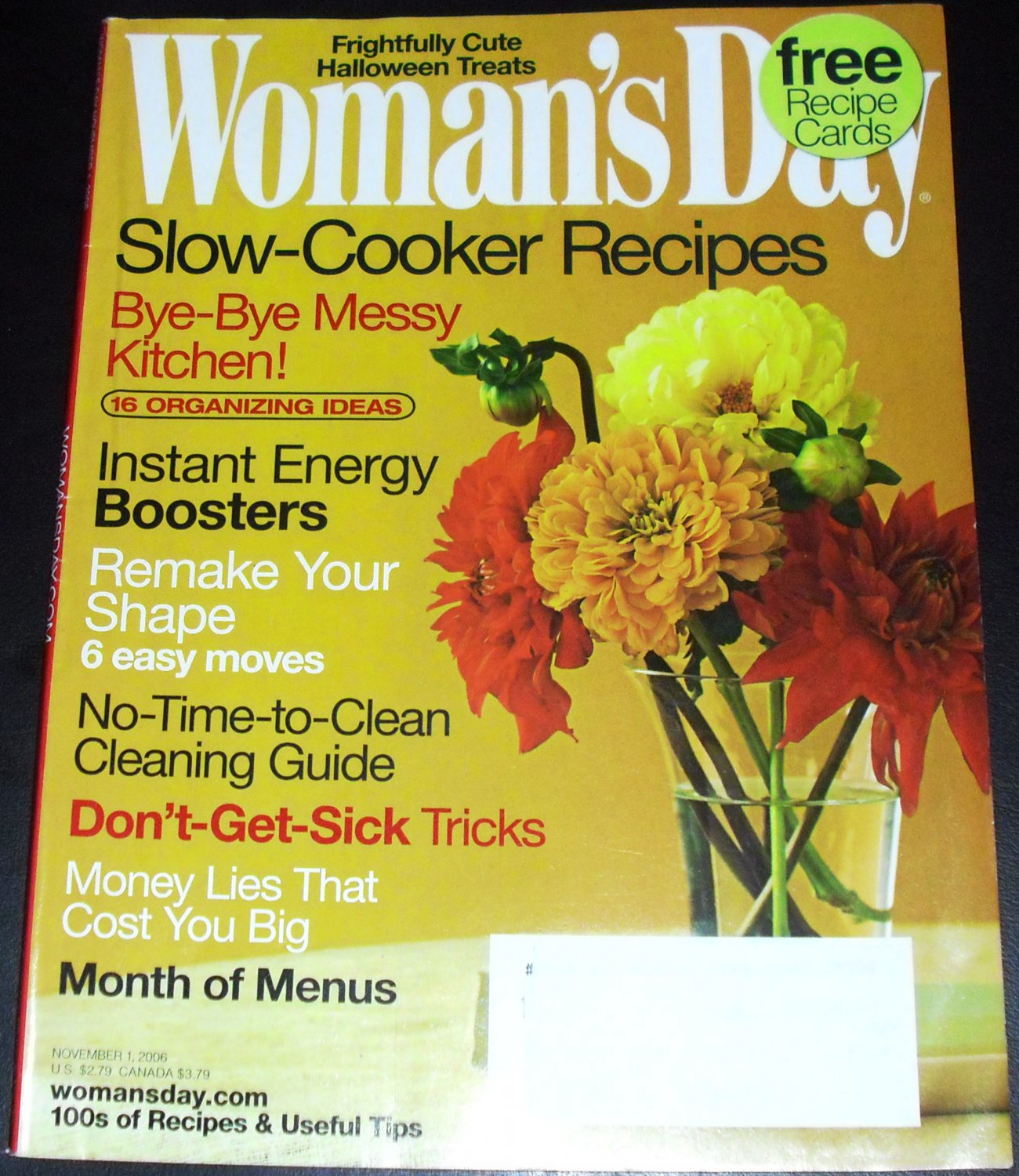 Woman's Day Magazine, November 2006 Special Issue