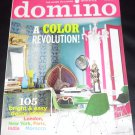 Domino Magazine September 2008 A Color Revolution, 105 Bright & Easy Decor Ideas from London