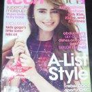 Teen Vogue Magazine October 2011 Lily Collins