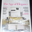 Architectural Digest Magazine March 2011 The Age of Elegance Art Deco&#39;s Comeback