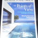 Architectural Digest August 2011 Points of View (Blissful Summer Getaways, What's Cool in Stockholm)