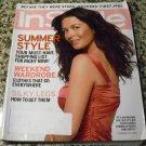 Instyle Magazine, July 2004 Issue - Catherine Zeta-Jones