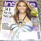 Instyle Magazine, November 2008 Issue - Beyonce