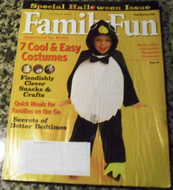 family fun magazine october 2006 special halloween issue - Family Fun Magazine Halloween Crafts