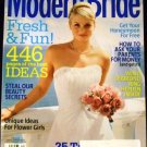 Modern Bride Magazine June July 2006