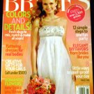 Brides Magazine May June 2009