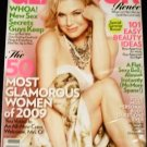 Glamour Magazine June 2009 Renee Zellwegner 50 Most Glamorous Women of 2009