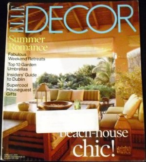 Elle Decor Magazine June/july 2004 (Elle Magazine)
