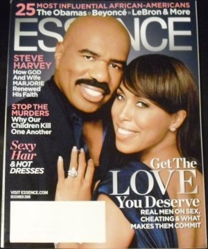 Essence Magazine: Steve & Marjorie Harvey (December 2009)