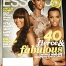 Essence Magazine: Naomi, Iman, Liya (September 2010)