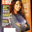 EBONY MAGAZINE: April, 1994 MARIAH CAREY TALKS OF HER INTERACIAL HERITAGE, FAME